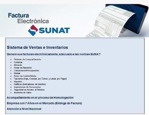 Sistema De Ventas E Inventarios Con Factura Electronica