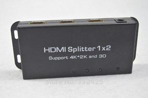 Splitter Hdmi Para Distribuir Imagen Y Sonido 3d 4k