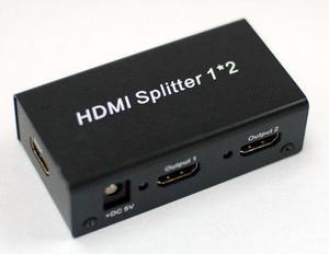Splitter Hdmi Para Distribuir Imagen Y Sonido A Otros Tv (lc
