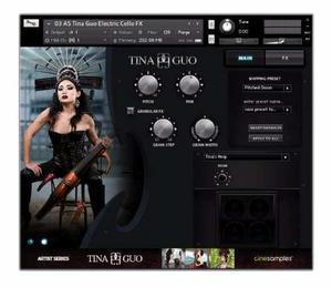 Tina Guo Artist Series Cinesamples Para Kontakt Pc| Mac