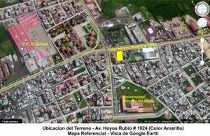 Venta de Terreno de 1097 m2 en La Mejor Zona de Cajamarca