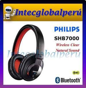 Audífono Bluetooth Philips Shb7000 Incluye Cable De 3.5mm
