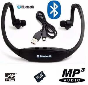Audífonos Handsfree Bluetooth / Radio Fm/ Slot Para Micro