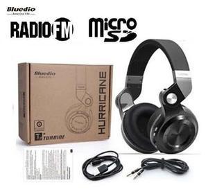 Audifono Bluetooth Bluedio T2+ Radio Fm/sd Mp3 * Se Envian
