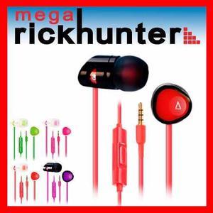 Audifono Handsfree Creative Hitz Ma200 Realce Bajos- Colores