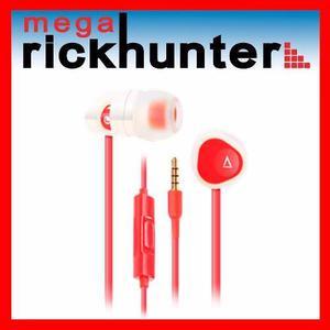 Audifono Handsfree Creative Hitz Ma200 Realce Bajos- Rojo