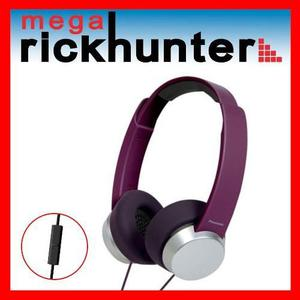 Audifono Handsfree Panasonic Rp-hxd3we Android Iphone Violet