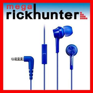 Audifono Handsfree Panasonic Rp-tcm105 Android Iphone Azul