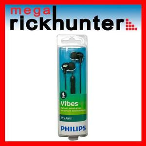 Audifono Handsfree Philips Vibes She3555 Realce Bajos Negro