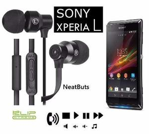 Audifonos Hands Free Control Total Microfono Sony Xperia L