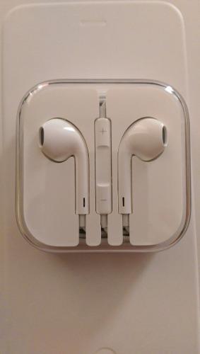 Earpods Audífonos De Mi Iphone 6 Plus Nuevo 100% Original