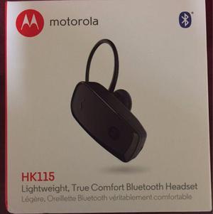 Handsfree Bluetooth Motorola Hk115 Original 2 Conexion Caja