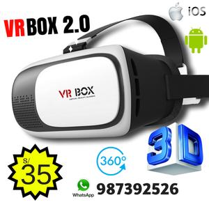 LENTES VRBOX 2.0 3D  NUEVOS REALIDAD VIRTUAL