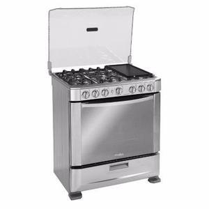 2 x 1 horno electrico y parrilla xtends posot class for Cocina 6 quemadores