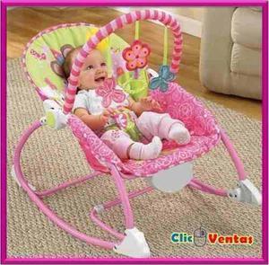 Mecedora, Silla, Gimnasio Para Bebe Con Juegos Y Vibracion