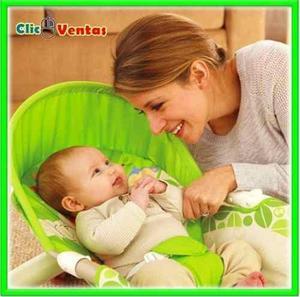 Mecedora Silla Selva Con Vibracion Y Soporta Para Bebe