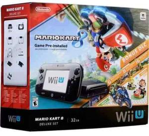 Nintendo Wii U Deluxe 32 Gb Flasheado