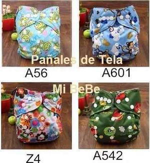 Pañales De Tela ¨mi Bebe¨ Pañales Ecológicos Y Lavables