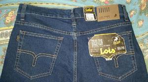 Pantalón Hombre Jean Moda Lois Nuevo Y Sellado Y original