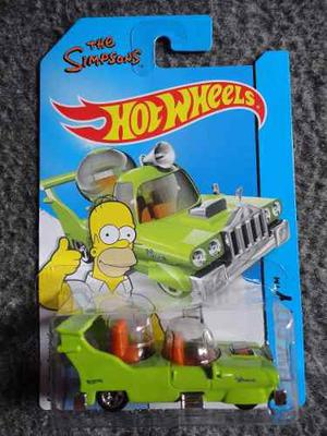 The Homer The Simpsons 1/64 Hot Wheels Homero