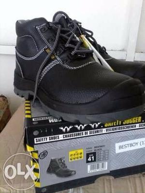 Zapatos De Seguridad Safety Jogger Y Casco Blanco 3m