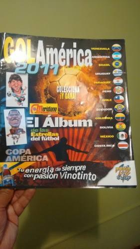 Album Copa América 2011 De 96 Figuras 36 Figuras En Laminas