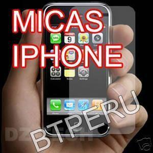 Micas Laminas Protector De Pantalla Lcd Para Iphone 2g Film