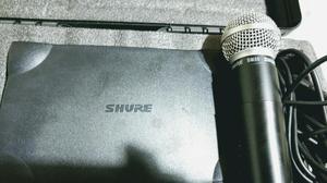 Microfono Shure. Inalambrico