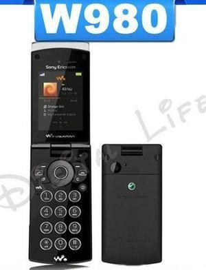Pedido Sony Ericsson W980 Libre De Fabrica Nuevo Con Garanti