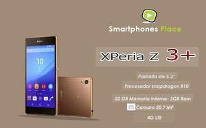 Sony Xperia Z3+ Plus, 4g, Libre De Fábrica,con Garantía