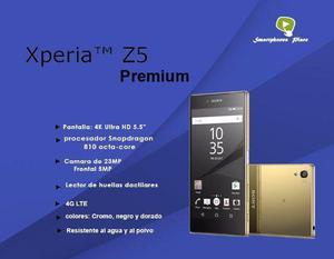 Sony Xperia Z5 Premium, De 32gb, 4g Lte, Libre De Fábrica.