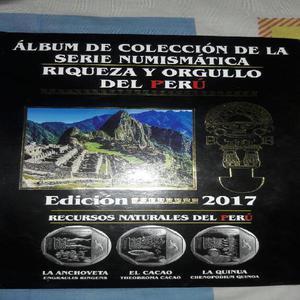 Album de Coleccion Monedas Del Peru