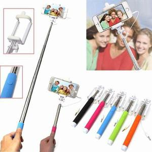 Baston Selfie Con Cable En Caja Colores Precio Infarto Stock