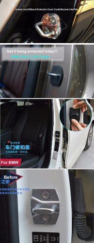 Bmw:: Juego De Protectores Para La Cerradura De Puertas