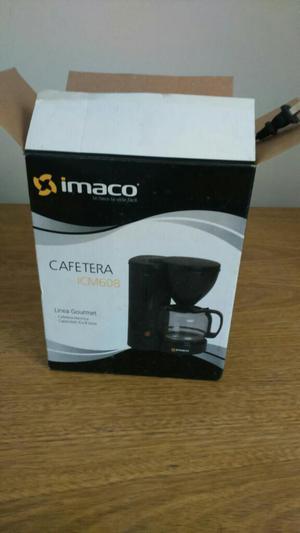 Cafetera Imaco Nueva