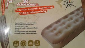 Cama Colchon Inflable Kimber Casi Nuevo+ Inflador Tablet 4g