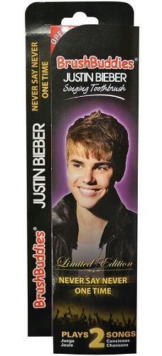 Cepillo Justin Bieber Electronico Navidad Regalo Niña Music