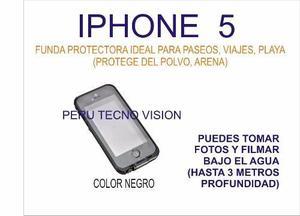 Funda Protectora Especial Para Buceo (3 Metros) Iphone 5