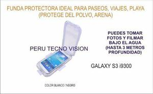 Funda Protectora Para Buceo (3 Metros) Samsung Galaxy S3