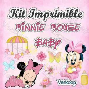 Invitaciones Minnie Posot Class