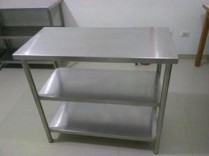 2 mesas amplias de acero inoxidable en ica precio posot for Mesa inoxidable