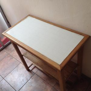 Mesa infantil de madera capirona y f rmica posot class for Formica madera