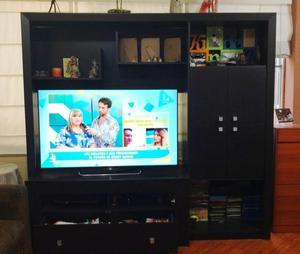 Mueble para sala TV 55 Color Negro, en buen estado
