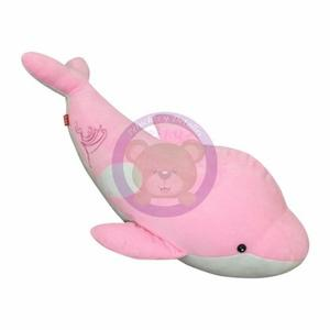 Peluche Delfin Rosa 85 Cm - Importado - Hipoalergénico