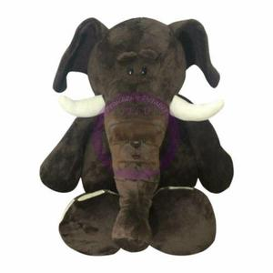 Peluche Elefante Mamut 75 Cm - Importado - Hipoalergénico