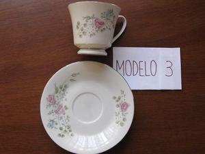 Porcelana China Vajilla Tazas Cafe O Te Azucarera Y Lechera