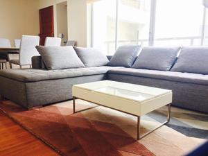 Juego de sofa 5 piezas con esquinero posot class - Sofa para tres ...