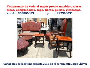 Compra de ropa y articulos usados posot class for Compra de muebles