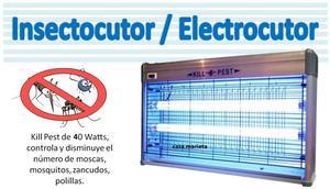 insectocutor Lampara Mata Insectos de 40 Watts
