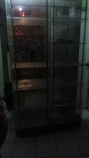 vitrina exhibidor, vidrio triple, vidrios completos, espejos